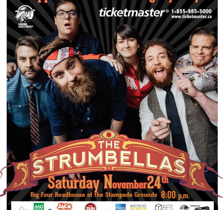 Canadian legacy project presents the Strumbellas – November 24, 2018